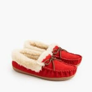J. Crew Women's lodge moccasins